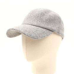 Wool Gray Simple Ballcap 울볼캡