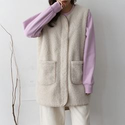 Teddy Unbal Vest