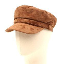 Suede Brown Line Marine Cap 마린캡