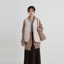 dia quilting vest (3colors)