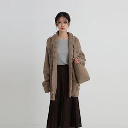shawl loose cardigan (2colors)