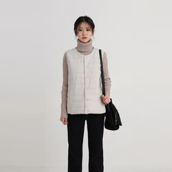 thinsulate vest (6colors)