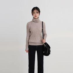twist bold pola knit (4colors)