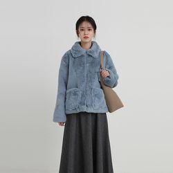 alexa fur jacket (2colors)