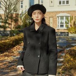 style double short handmade jacket (wool90)