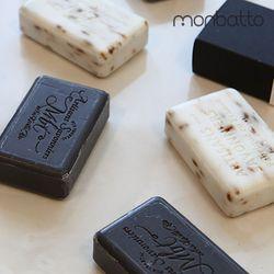 몽바또 프랑스 천연비누 파츌리 라벤더 2종 기프트세트
