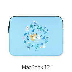 파랑 (노트북 13인치 파우치)