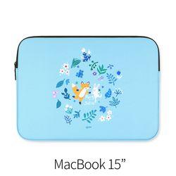 파랑 (노트북 15인치 파우치)