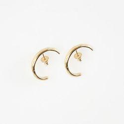 Half Ring Earrings