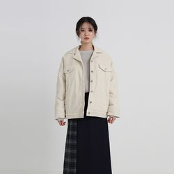 dumble cotton trucker jacket (2colors)