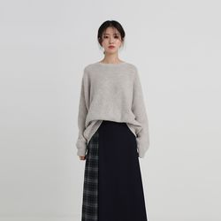 maple round knit (3colors)