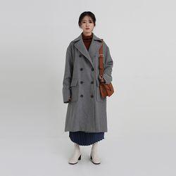 pintuck a-line double coat (3colors)