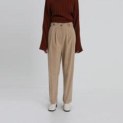 code corduroy banding pants (2colors)