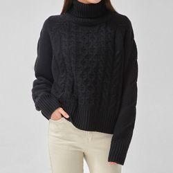 wool twist polar knit