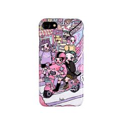 Bcoz Girl IPHONE Case (limited edition)