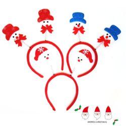 크리스마스산타머리띠 디자인랜덤
