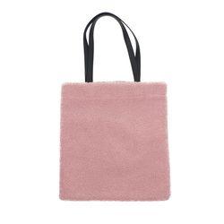 라템 뽀글이 에코백 핑크(AG2S8V04TAPP)
