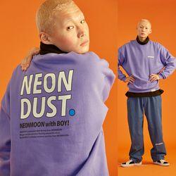 NEONDUST.  18W Sweat Shirt (Purple)