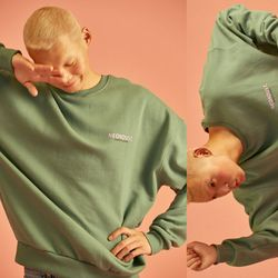 NEONDUST. 18 W Sweat Shirt (Khaki)