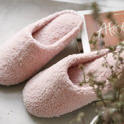 [natural365]모모 슬리퍼(핑크)