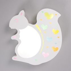 boaz 다람쥐 방등 LED 카페 홈 키즈 인테리어 조명