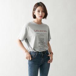[로코식스] 커넥트 티셔츠