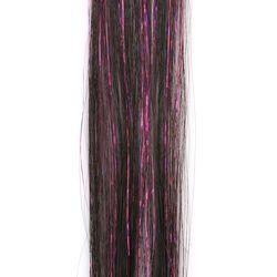 라템 블링블링반짝이 붙임머리헤어피스 바이올렛(AGHP8V02HBRV)