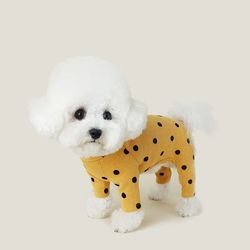 Flocking Dot All In One 후로킹 도트 올인원 Sunny Yellow
