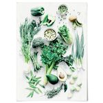 중형 패브릭 포스터 F062 주방 인테리어 액자 Eat green color