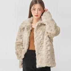 lovable fur jacket