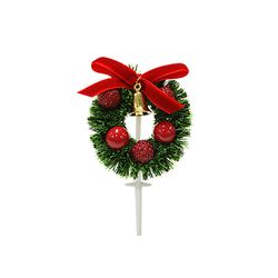 크리스마스케익장식 빨간열매금종 50개묶음