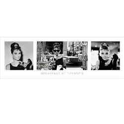 Tiffany 아침을 3부작  포스터액자 프레임미포함