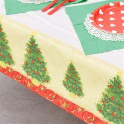 종이 테이블보 (크리스마스트리)