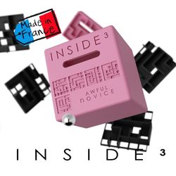 프랑스산 퍼즐큐브 인사이드3 Inside3 1-4 awful novice