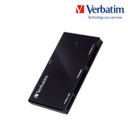 버바팀 카드리더기 USB 3.0 올인원 블랙