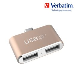 허브 Type-C OTG USB 듀얼 골드
