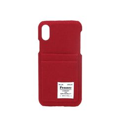FENNEC C&S iPHONE X CASE - SMOKE RED