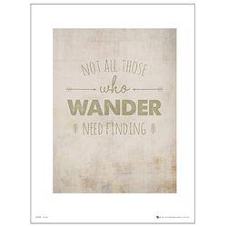 Adventure Wander Finding 포스터액자 프레임 미포함