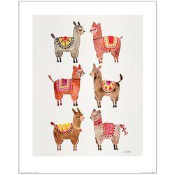 귀여운 동물들 모음 포스터액자 프레임 미포함