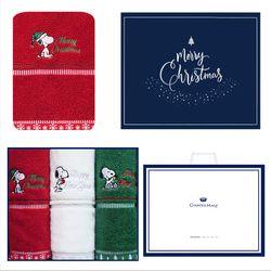 스누피 아폴로 크리스마스 3매 선물세트+쇼핑백 답례품
