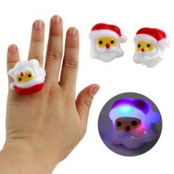 크리스마스산타라이트젤리반지
