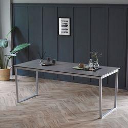 루나 그레이 이태리 세라믹 6인용 식탁 테이블 1800