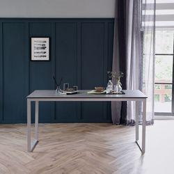 루나 그레이 이태리 세라믹 4인용 식탁 테이블 1400