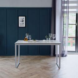 루나 화이트 이태리 세라믹 4인용 식탁 테이블 1200