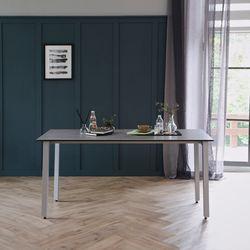 리암 그레이 이태리 세라믹 4인용 식탁 테이블 1400