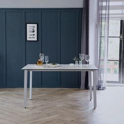 리암 화이트 이태리 세라믹 4인용 식탁 테이블 1200