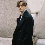 NEW DOUBLE WOOL LONG COAT BLACK (MEN)