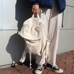 Basic cotton backpack