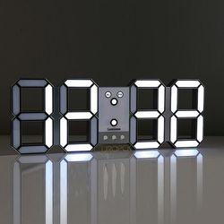 루미너스 대형 사무실 벽시계450 LED시계 450x167mm