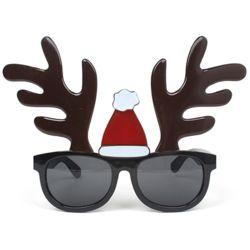 산타 모자쓴 루돌프 안경